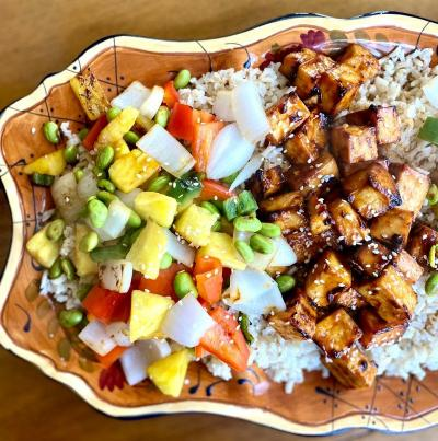 HEALTHY, SWEET AND SOUR TOFU RECIPE