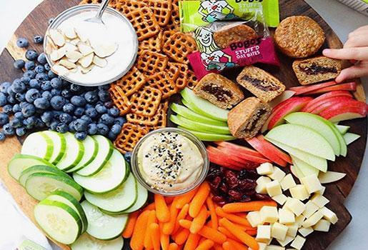 Healthy Snacks:  Daily Snacking with Vegan Snacks